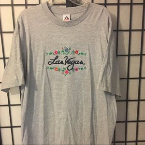 Embroidered Las Vegas XL t-shirt NWT